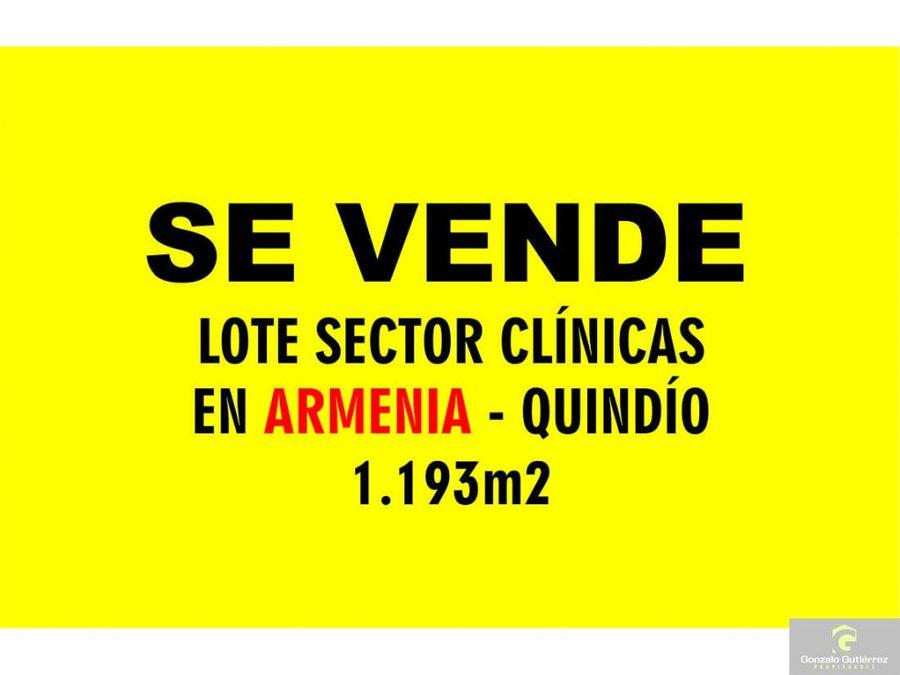 lote urbano armenia sector clinicas ang 1193