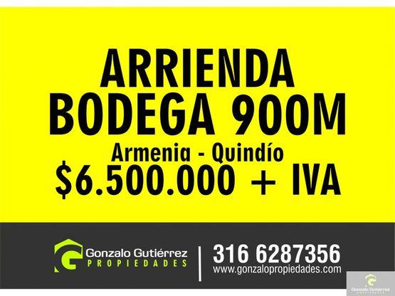 bodega armenia suburbana d 900m2