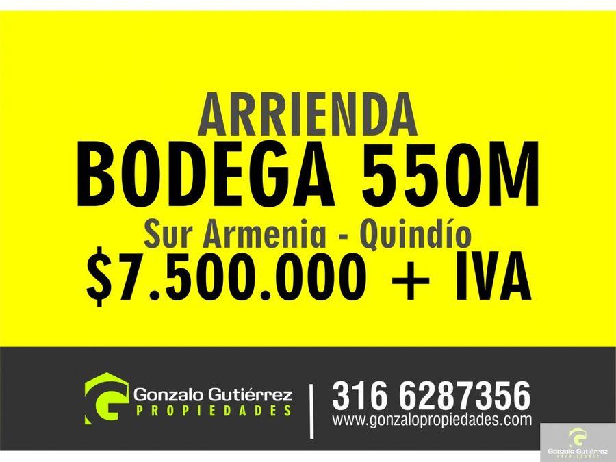 bodega h sur armenia 550