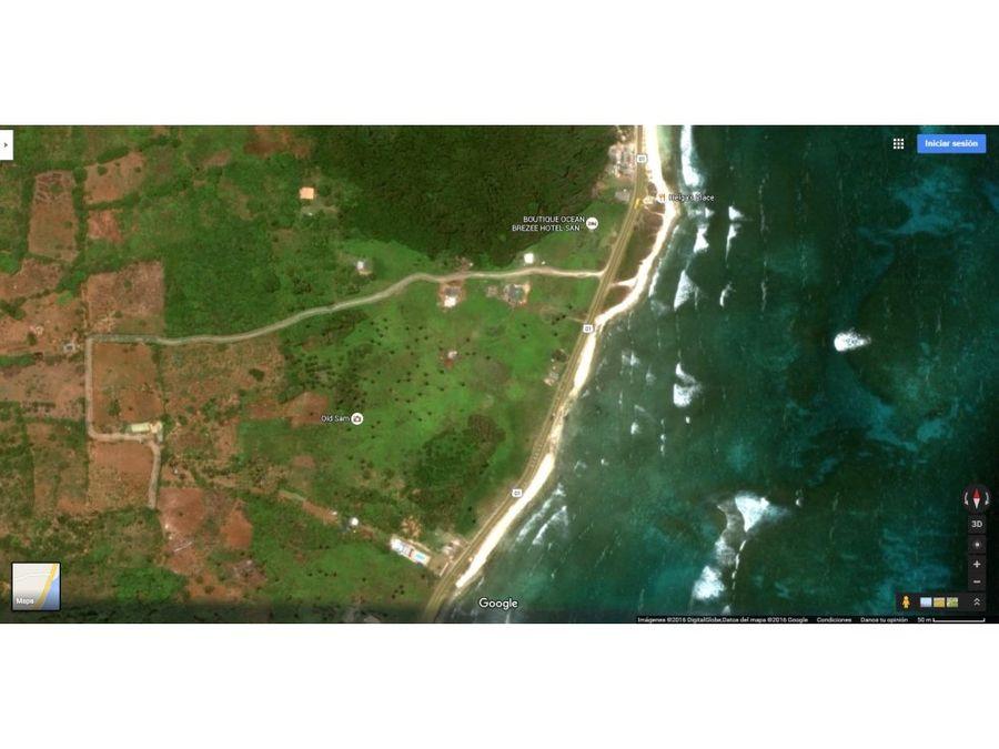 lote para turismo en san adres islas