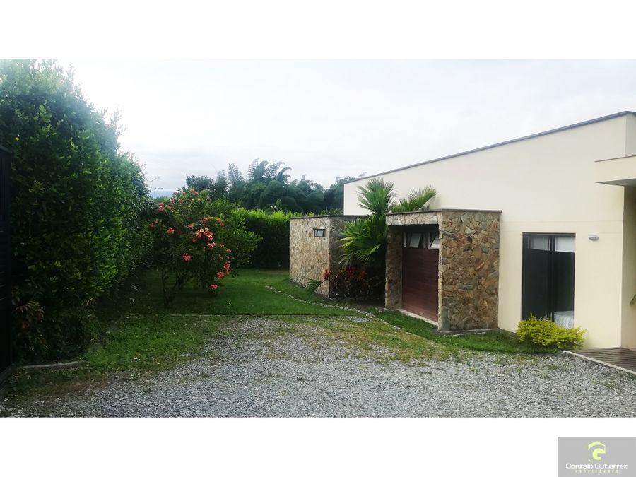 casa campestre en condominio armenia osgo