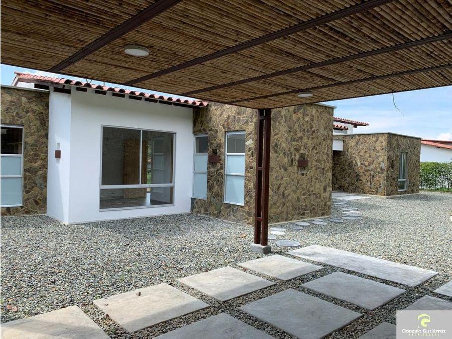 casa campestre armenia para estrenar