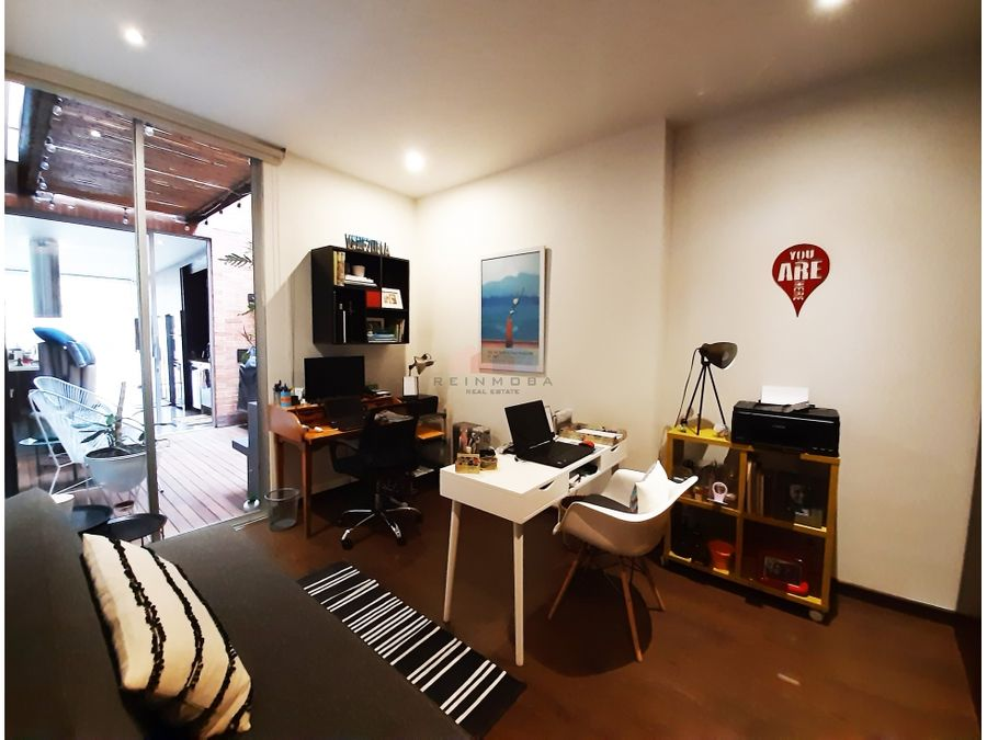 apartamento diseno con terraza en venta chico reservado