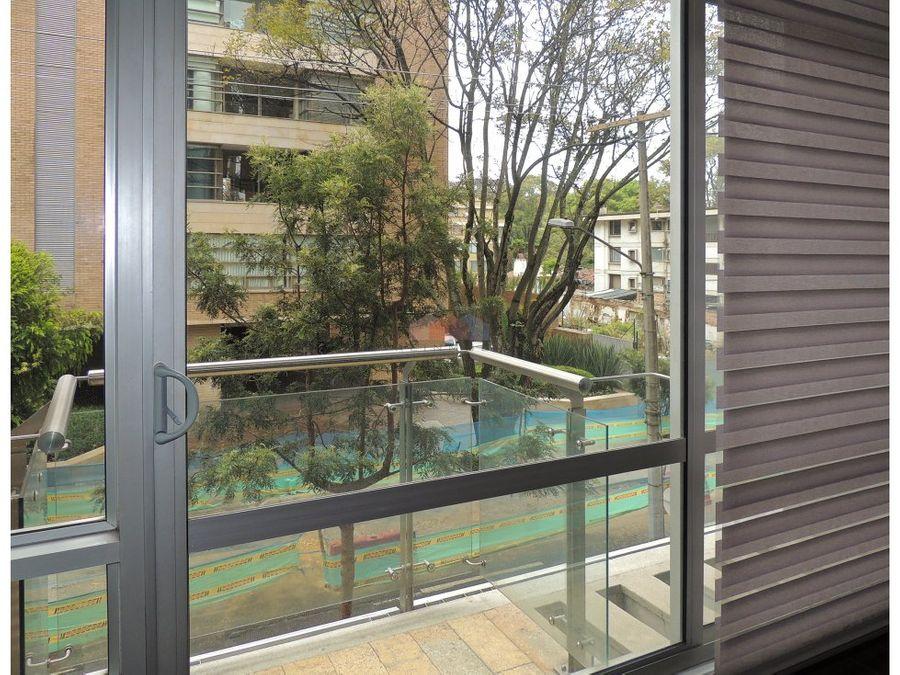 apartamento con terraza en arriendo en chico reservado