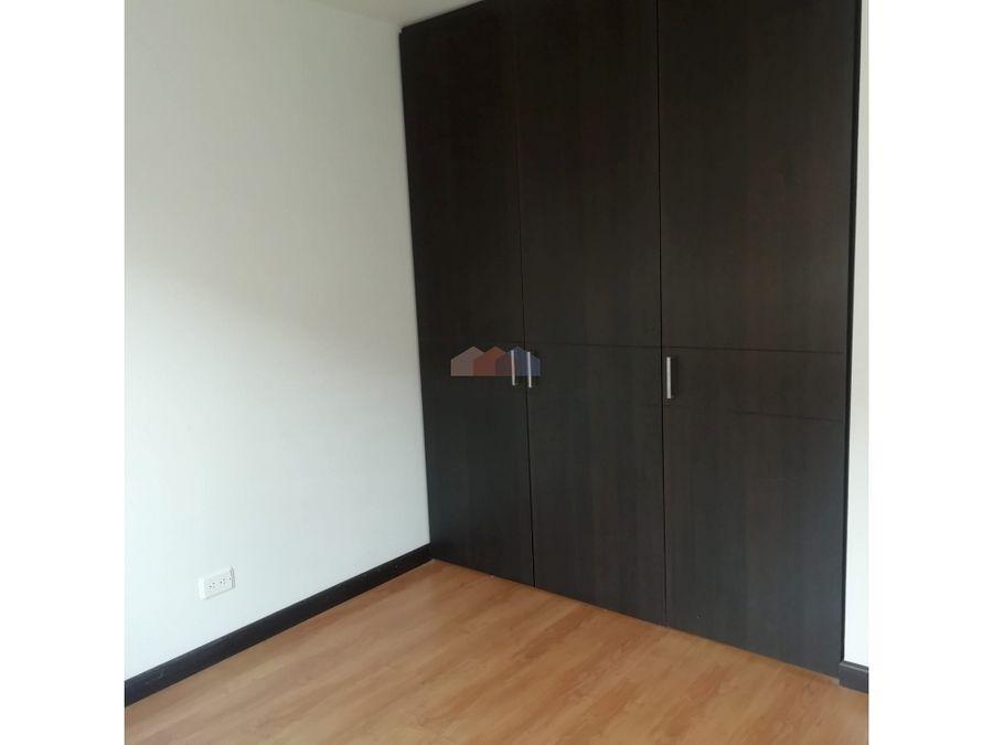 apartamento en arriendo en belmira en bogota