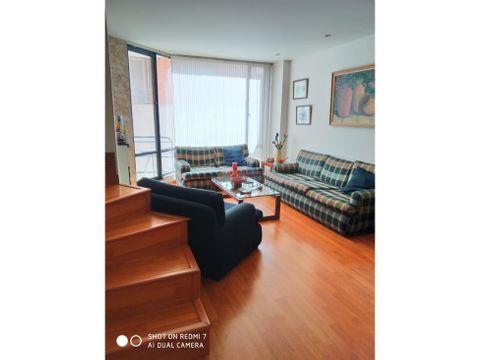 apartamento duplex en venta en bella suiza bogota