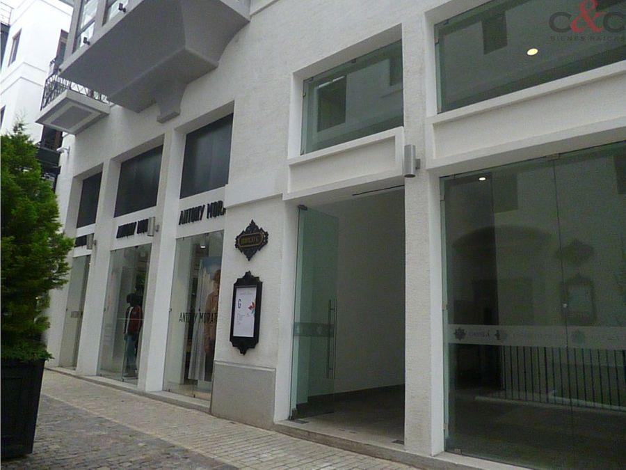 oficina en renta paseo cayala distrito moda