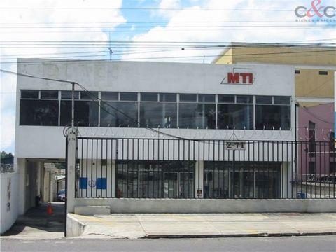 edificio en venta calzada roosevelt