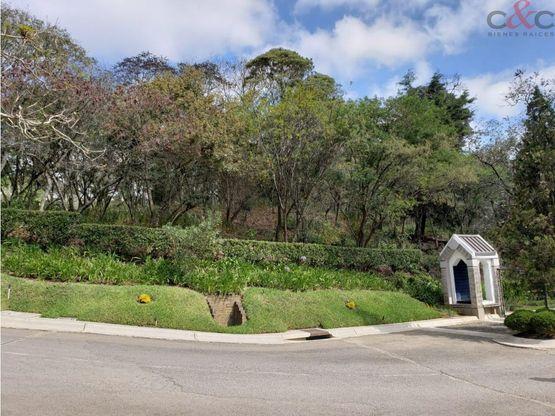 terreno en venta condominio vista al valle