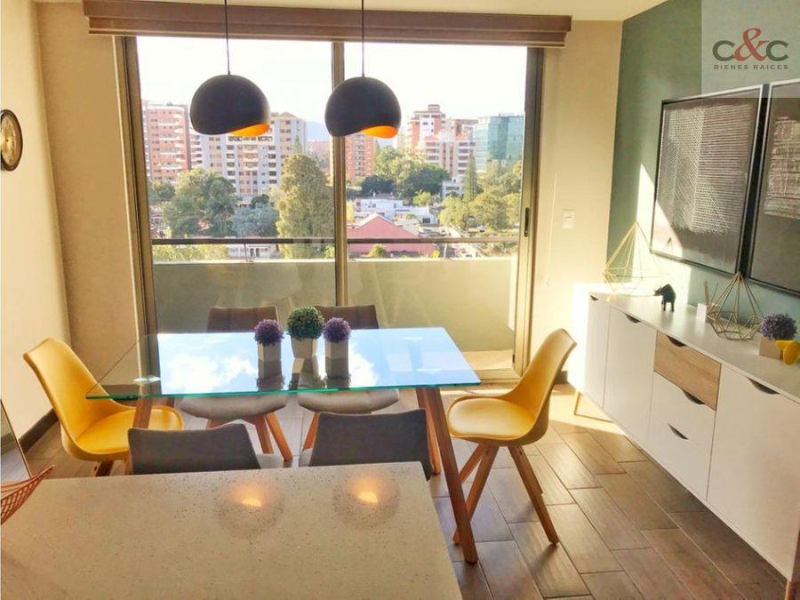 apartamento en renta verona zona 10