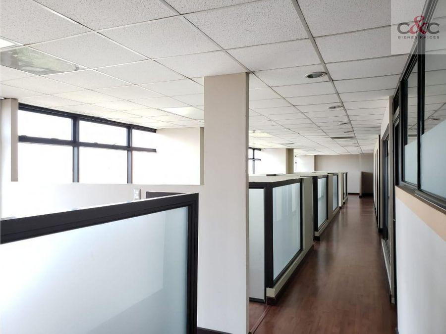 oficina en renta edificio aristos reforma zona 9