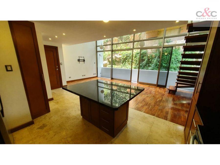 apartamento en renta amenti loft zona 15