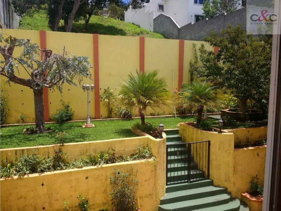 casa en venta la foresta fraijanes