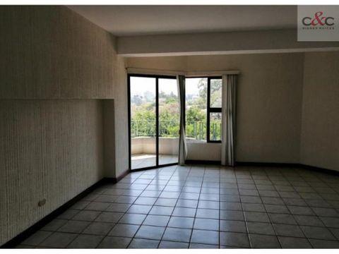 apartamento en renta vista hermosa ii zona 15