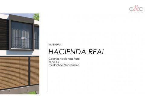 casas en venta hacienda real zona 16