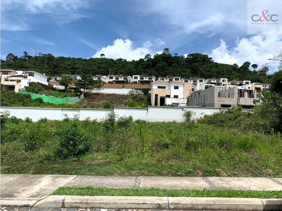 terreno en venta lomas de san isidro zona 16