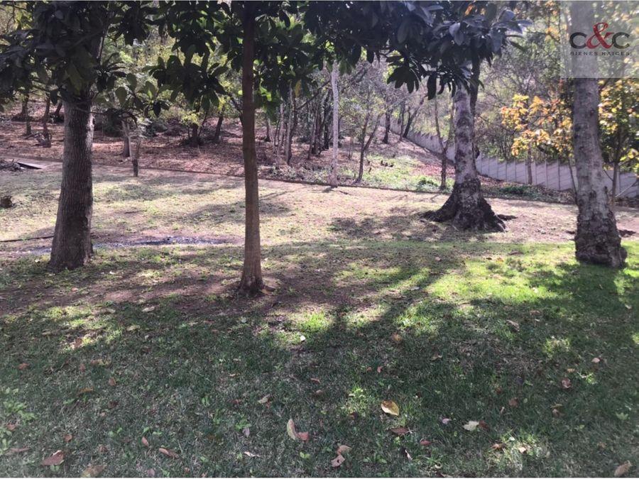 terreno en venta casco del cerro antigua guatemala
