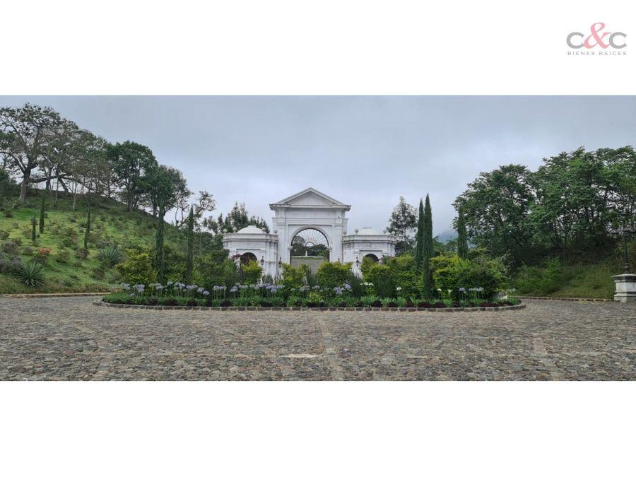 terrenos en venta antigua guatemala san mateo