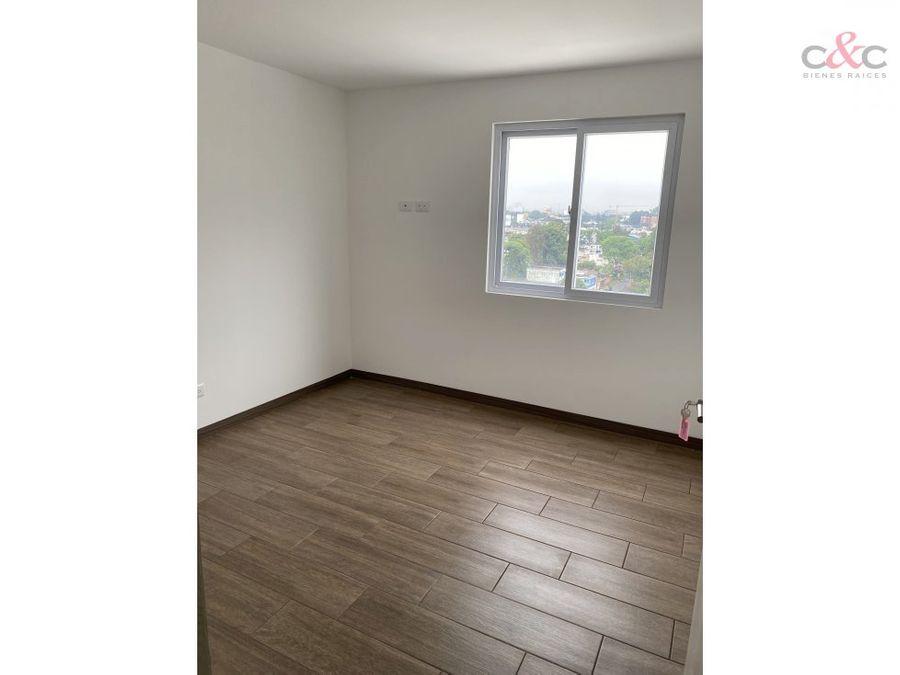 apartamento en renta vistares zona 12