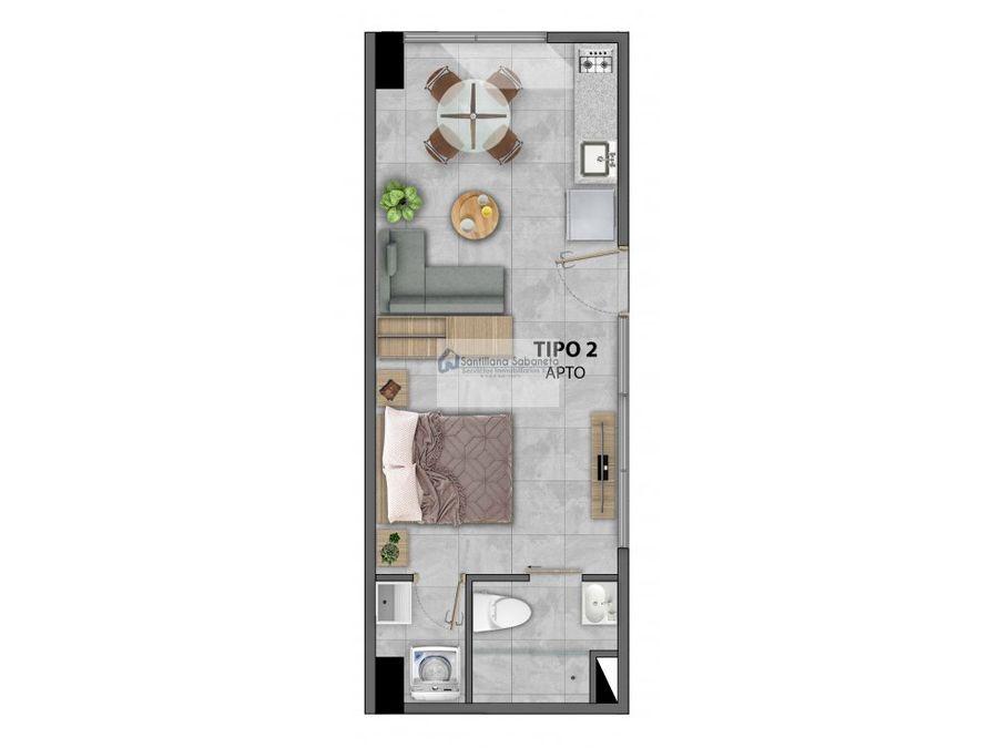 en venta apartaestudio torres de bombona c1203183