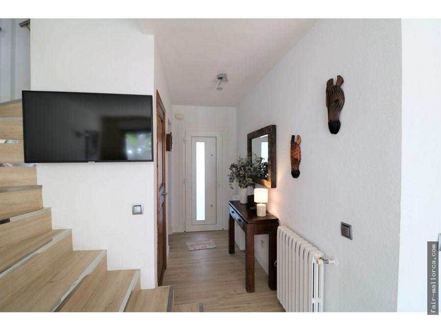 bonita casa pareada completamente reformada en font de sa cala