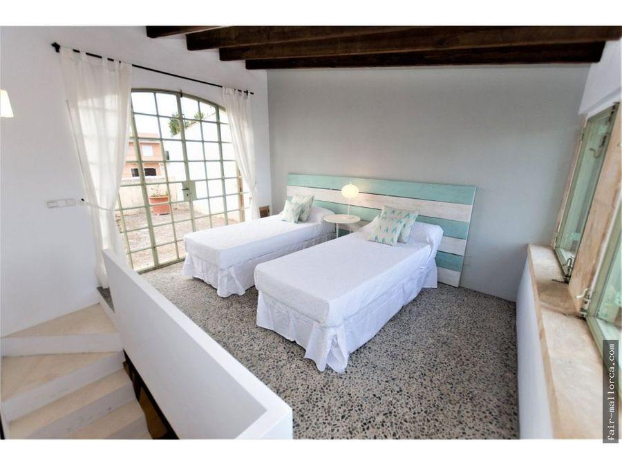 preciosa casa con terrazas en el pueblo de arta