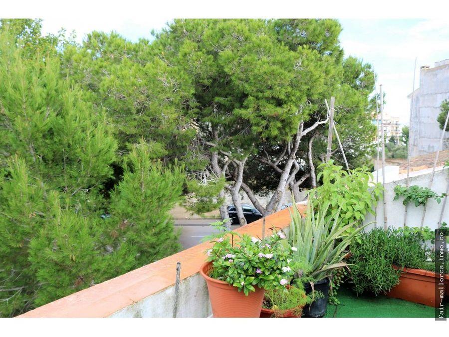 casa con terraza y garaja en porto cristo