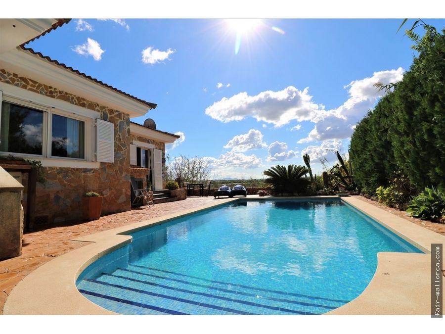 precioso chalet con piscina en alcudia cerca parque natural albufera