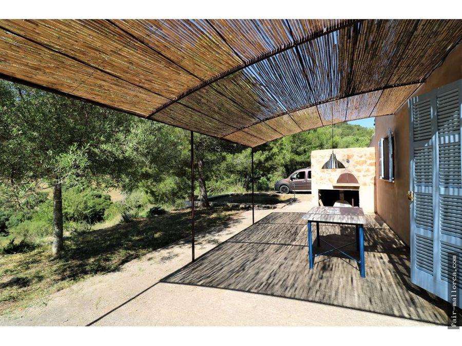 casa de campo en plena naturaleza en son macia