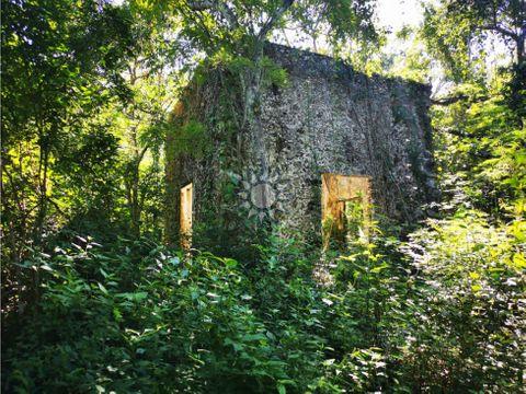 cenote con hectareas escrituradas en venta en chichimila