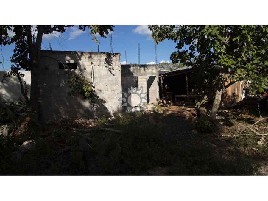 casa en venta en temozon frente al estadio