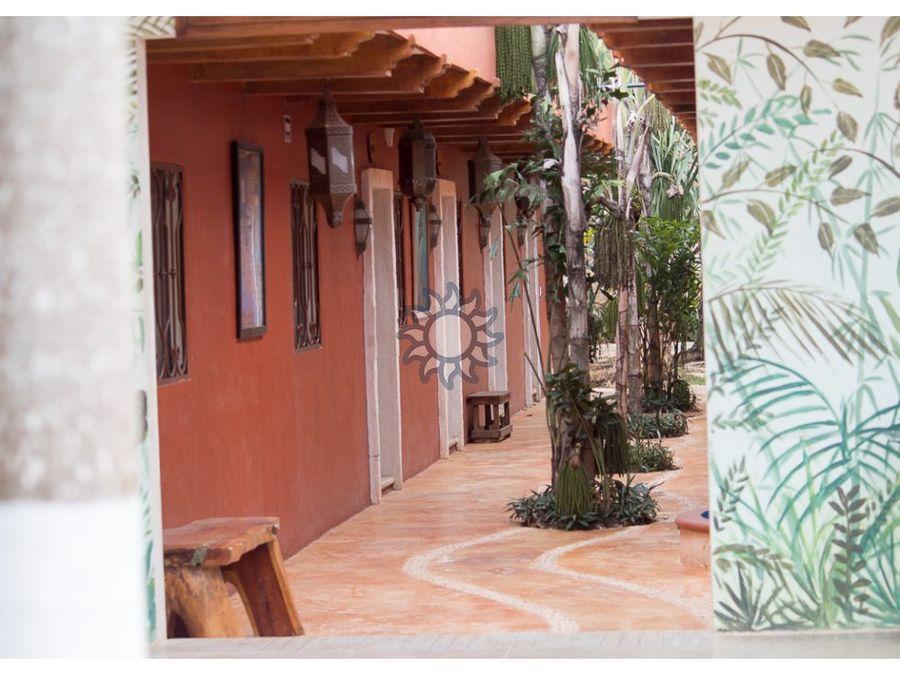 hermoso hotel en venta en valladolid yucatan