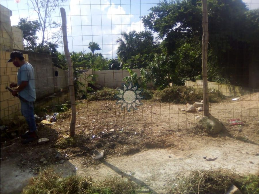 terreno en venta en barrio de santa ana