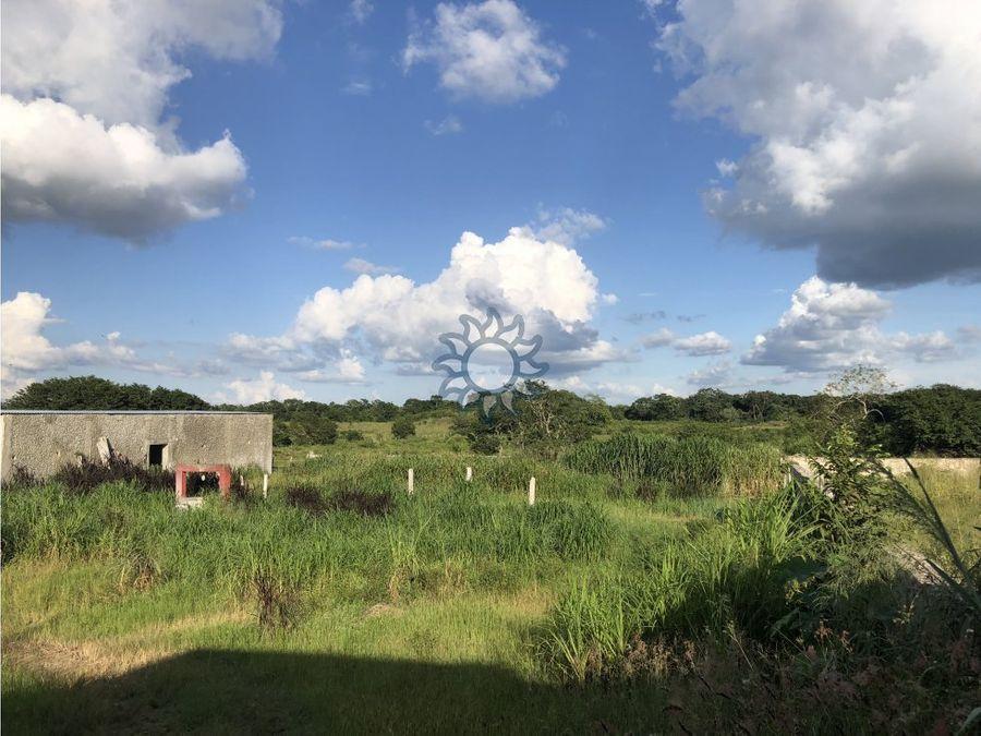 rancho en venta en yalcon yucatan