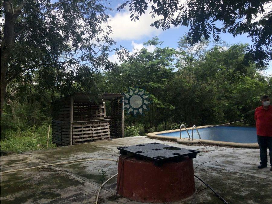finca en venta en santa eleuteria yucatan