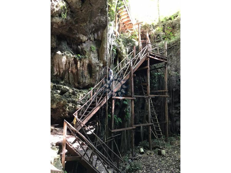 se vende terreno con cenote en tixhualactun