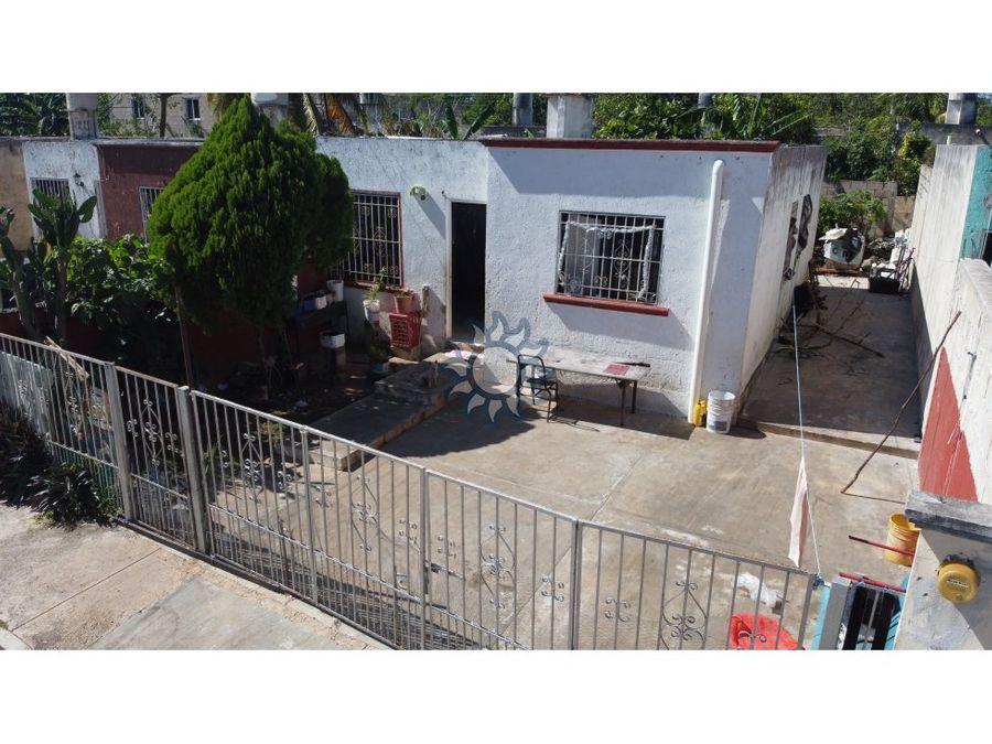 casa en venta en valladolid colonia santa cruz