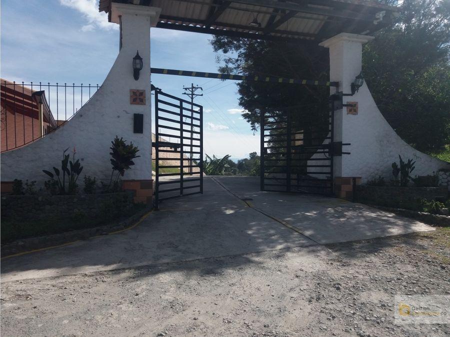 venta parcela 4754 m2 cerca a popayan en parcelacion los alpes