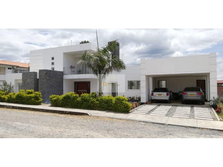 venta casa conjunto cerrado real calibio popayan