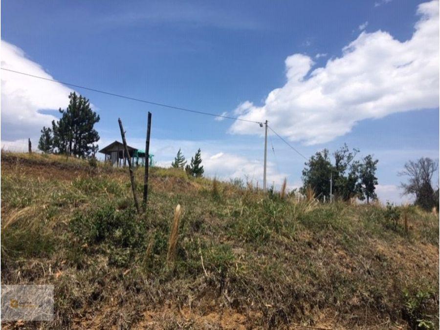 lote en parcelacion las gaviotas cerca a popayan