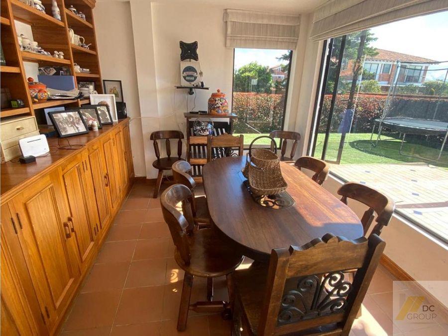 vendo linda casa campestre con zona verde privada
