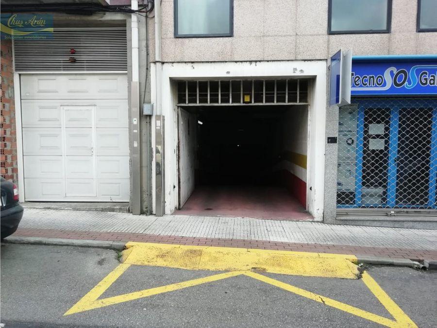 plaza de garaje en gran via de carballo