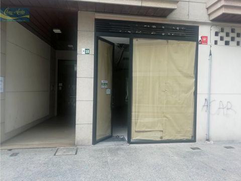 local comercial en plaza de galicia con camino nuevo