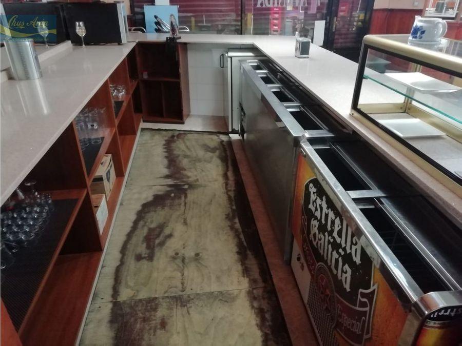 cafeteria en la av finisterre carballo