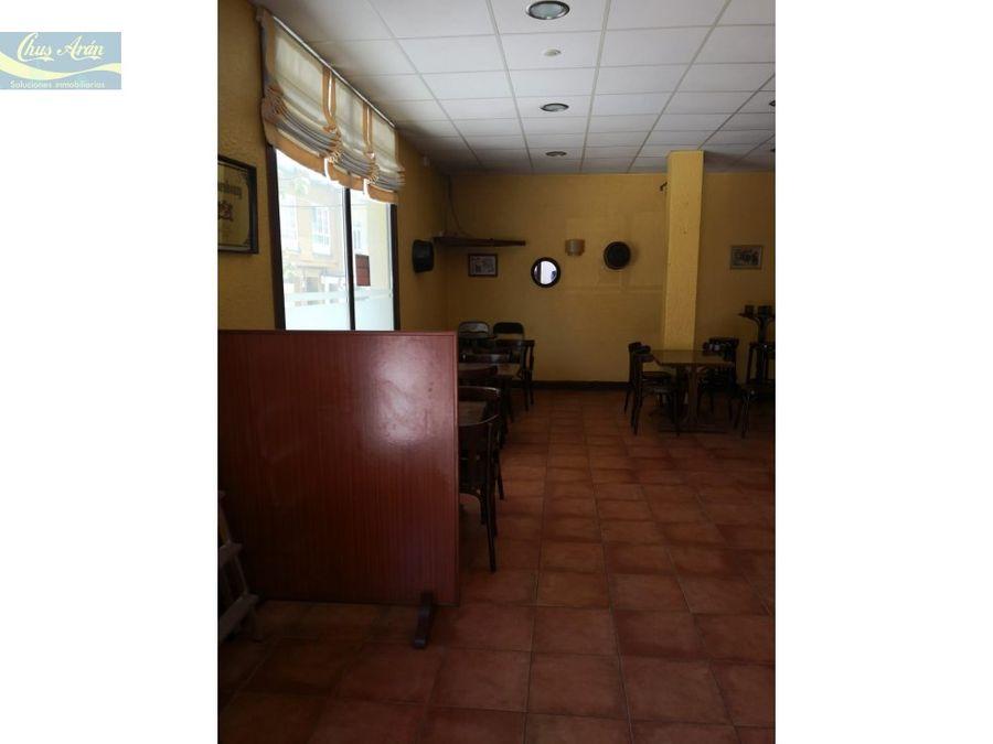 se vende local de hosteleria listo para abrir