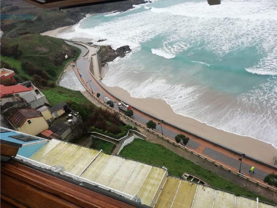 piso a pie de playa en malpica