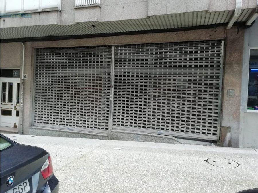 local comercial en la plaza de vigo santiago