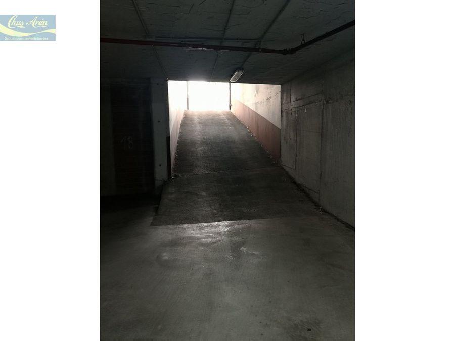 alquiler de plazas de garaje en luis calvo