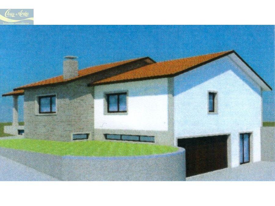 finca con proyecto de vivienda unifamiliar