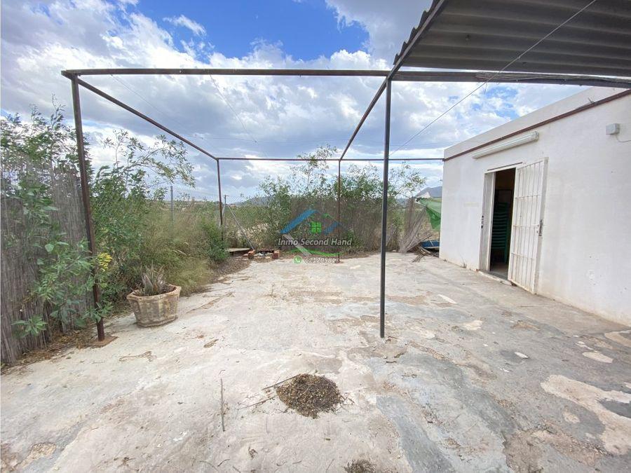 casa de campo con terreno en molinos marfagones